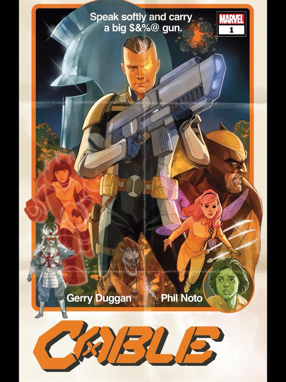 Cable #1-Marvel Comics(2020)