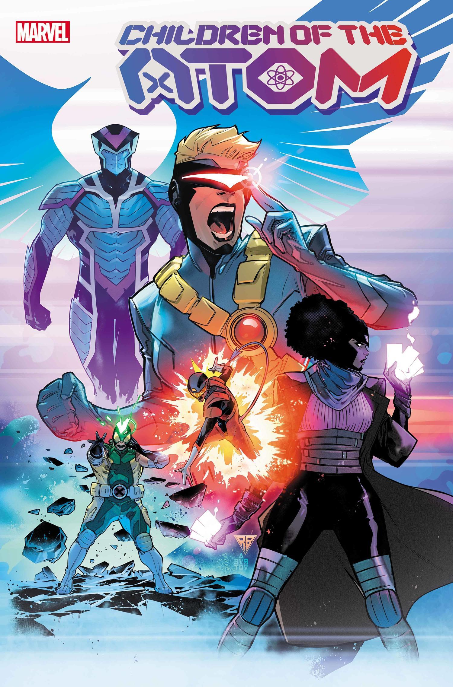 Children Of The Atom #1-Marvel Comics(2021)