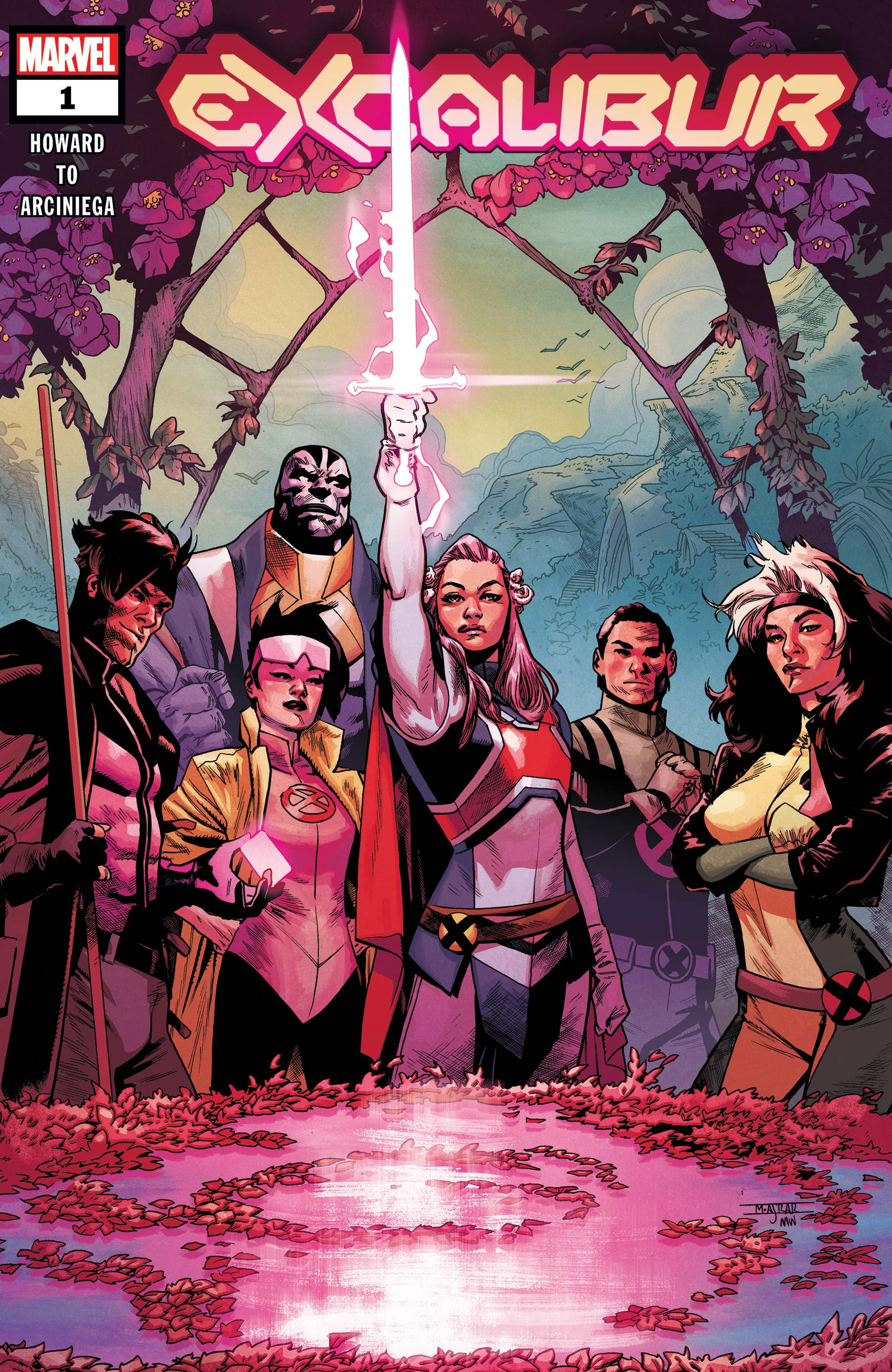 Excalibur #1-Marvel Comics(2019)