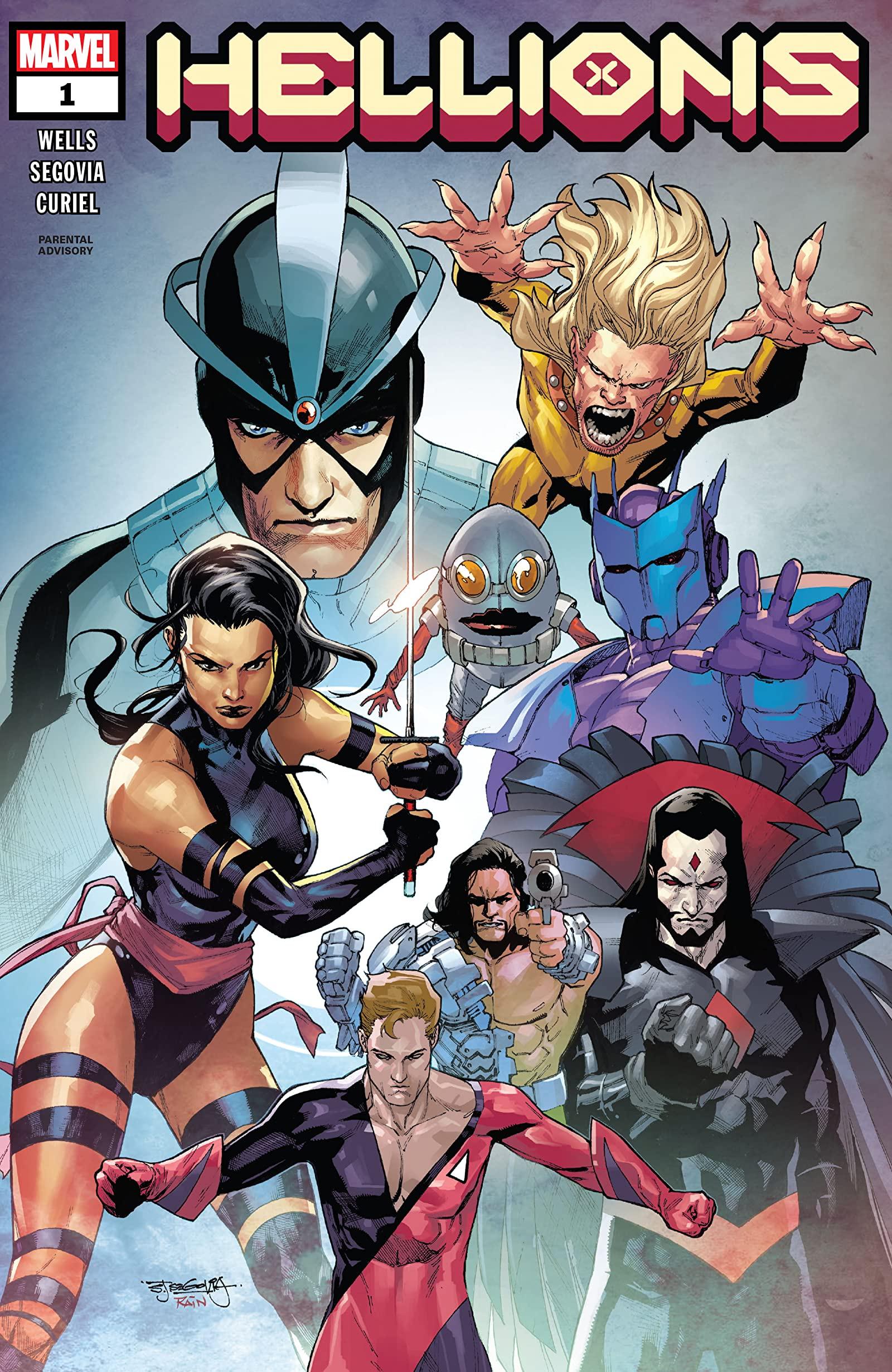 Hellions #1-Marvel Comics(2020)
