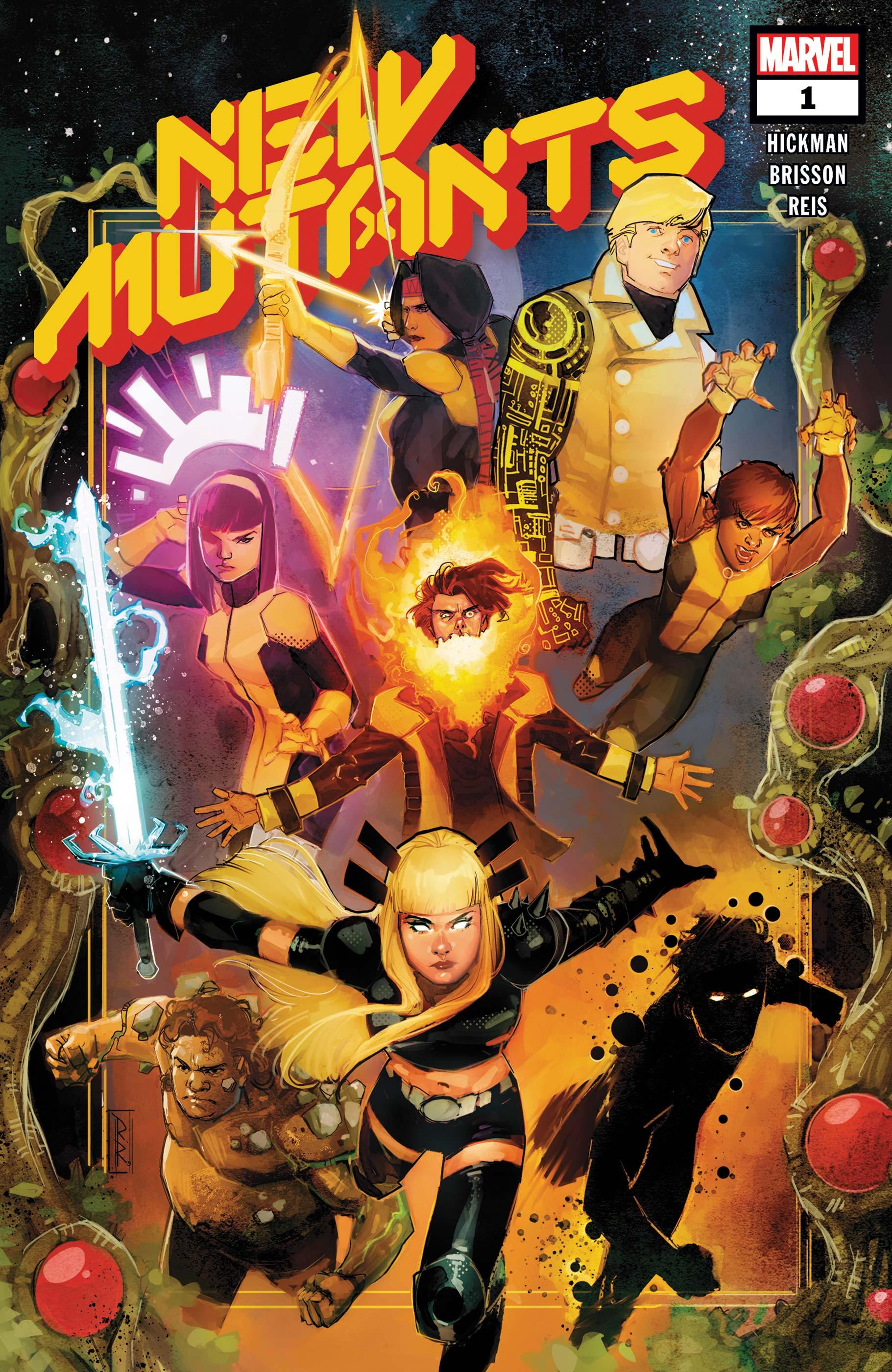 New Mutants-Marvel Comics(2019)