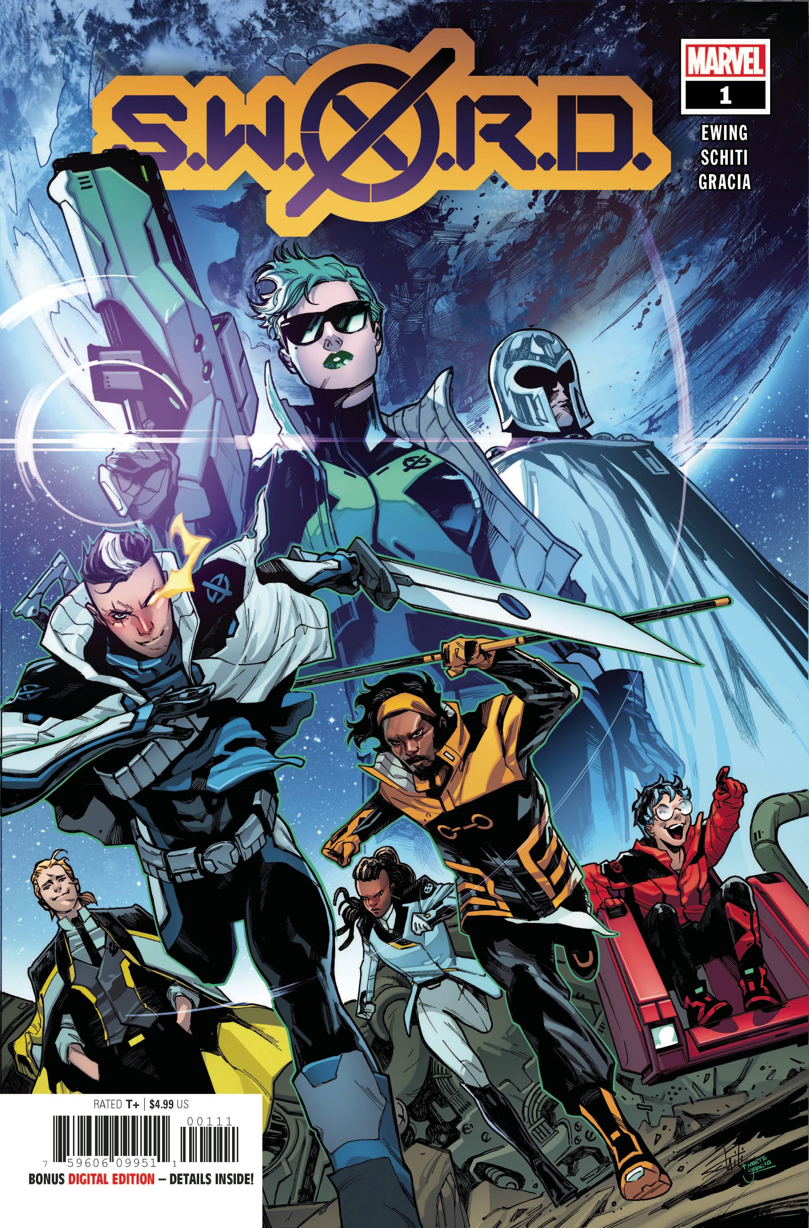 S.W.O.R.D. #1-Marvel Comics(2020)