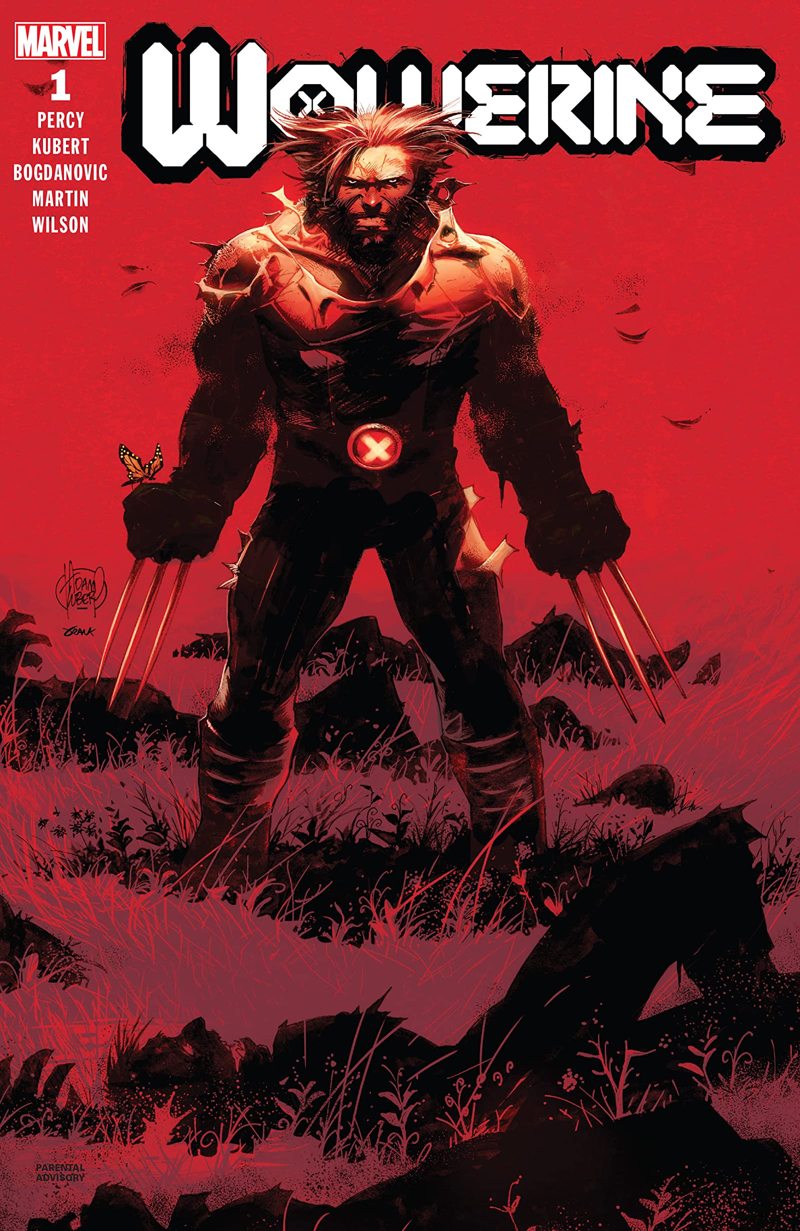Wolverine #1-Marvel Comics(2020)