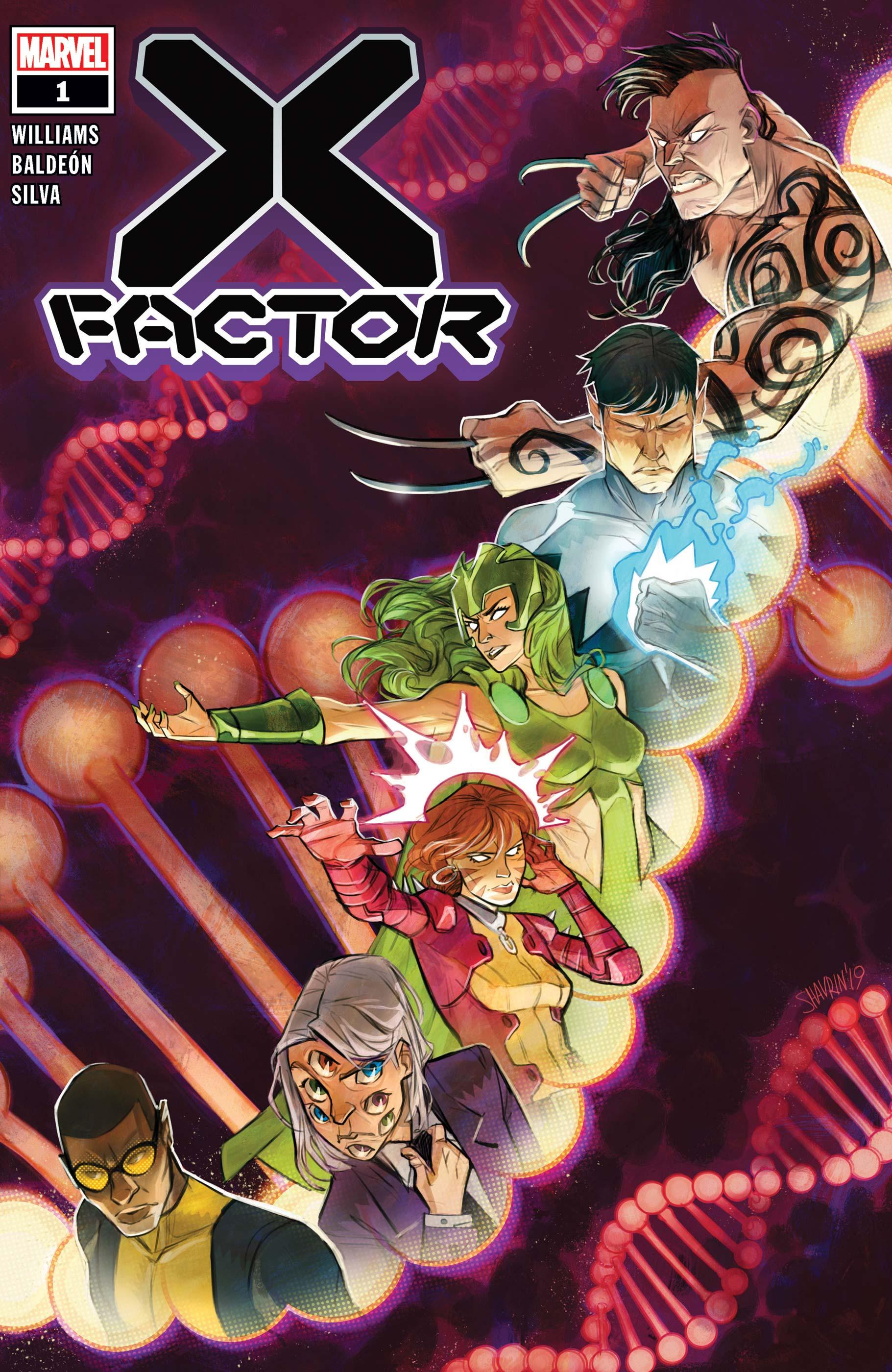 X-Factor #1-Marvel Comics(2020)
