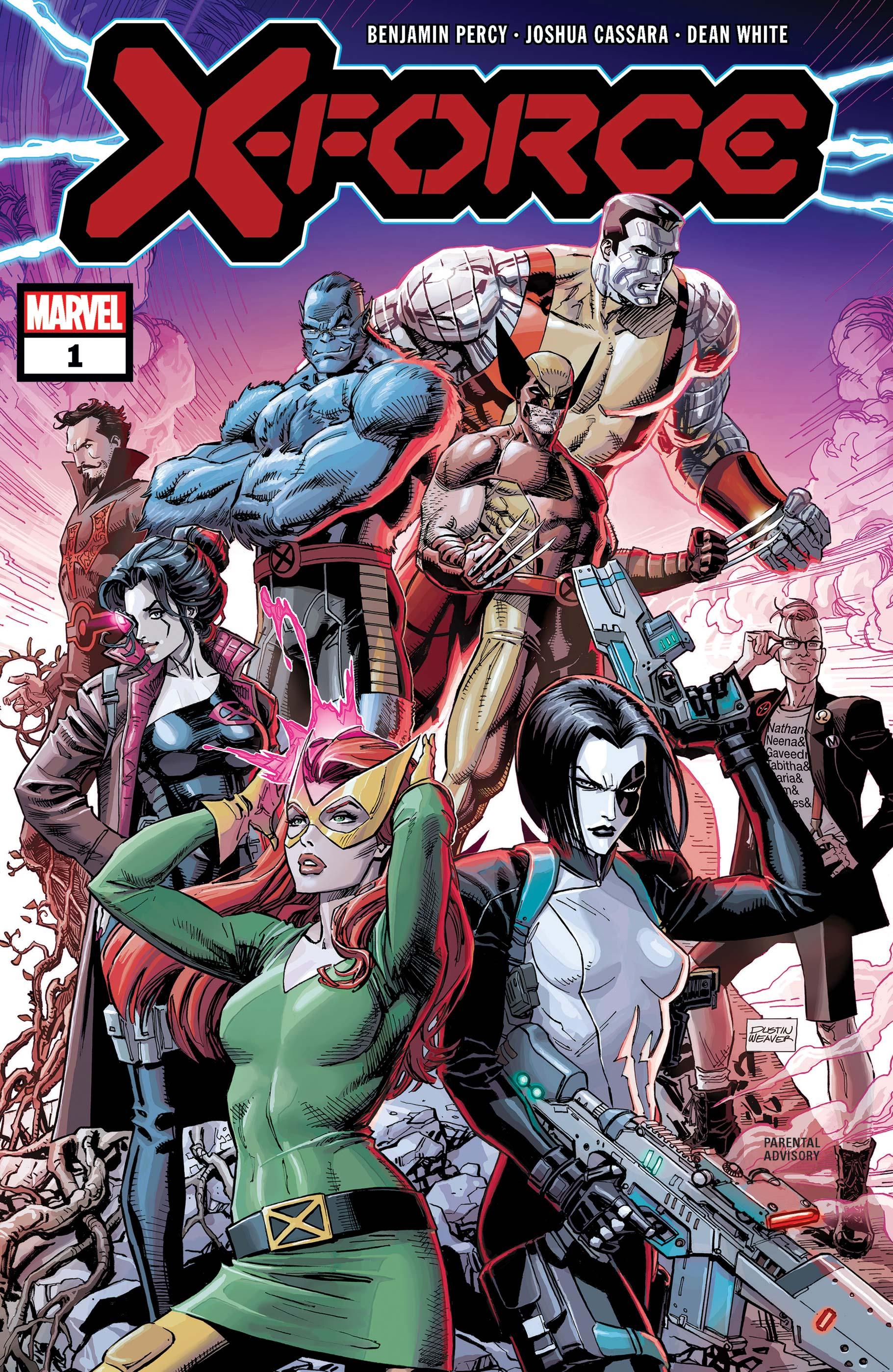 X-Force #1-Marvel Comics(2019)