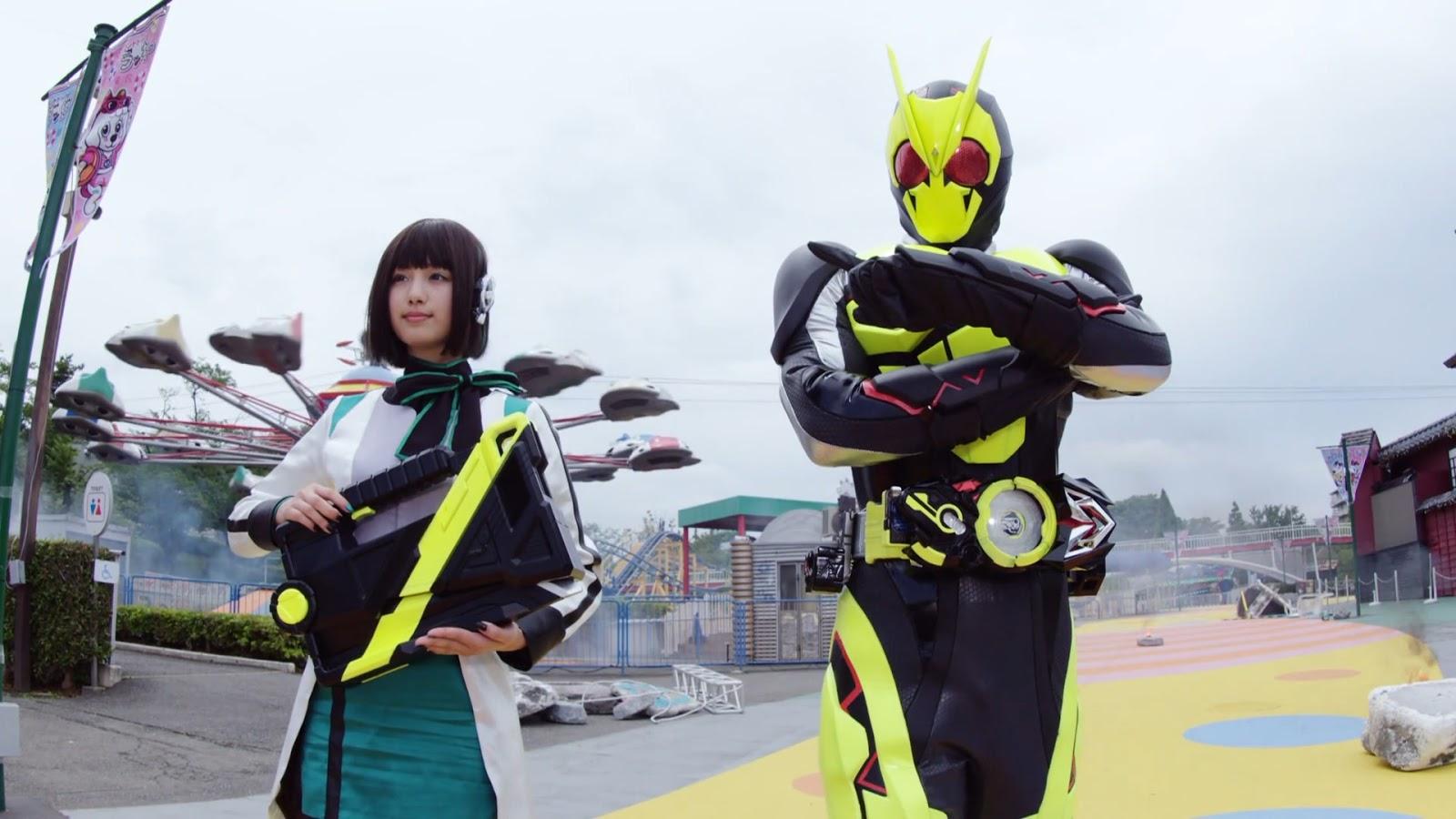 My Shiny Toy Robots: First Impressions: Kamen Rider Zero-One