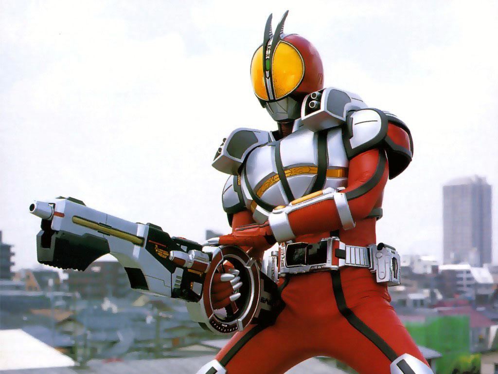 仮面ライダー: Kamen Rider Faiz (Φ) Blaster Form (仮面ライダーファイズ Blaster Form)
